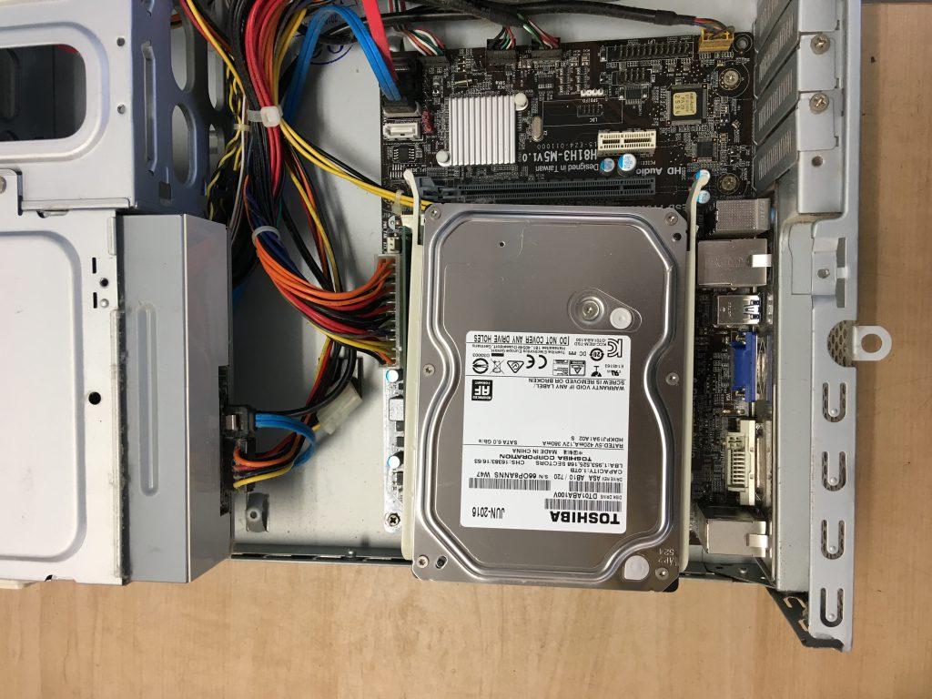 マウスコンピューターの内部