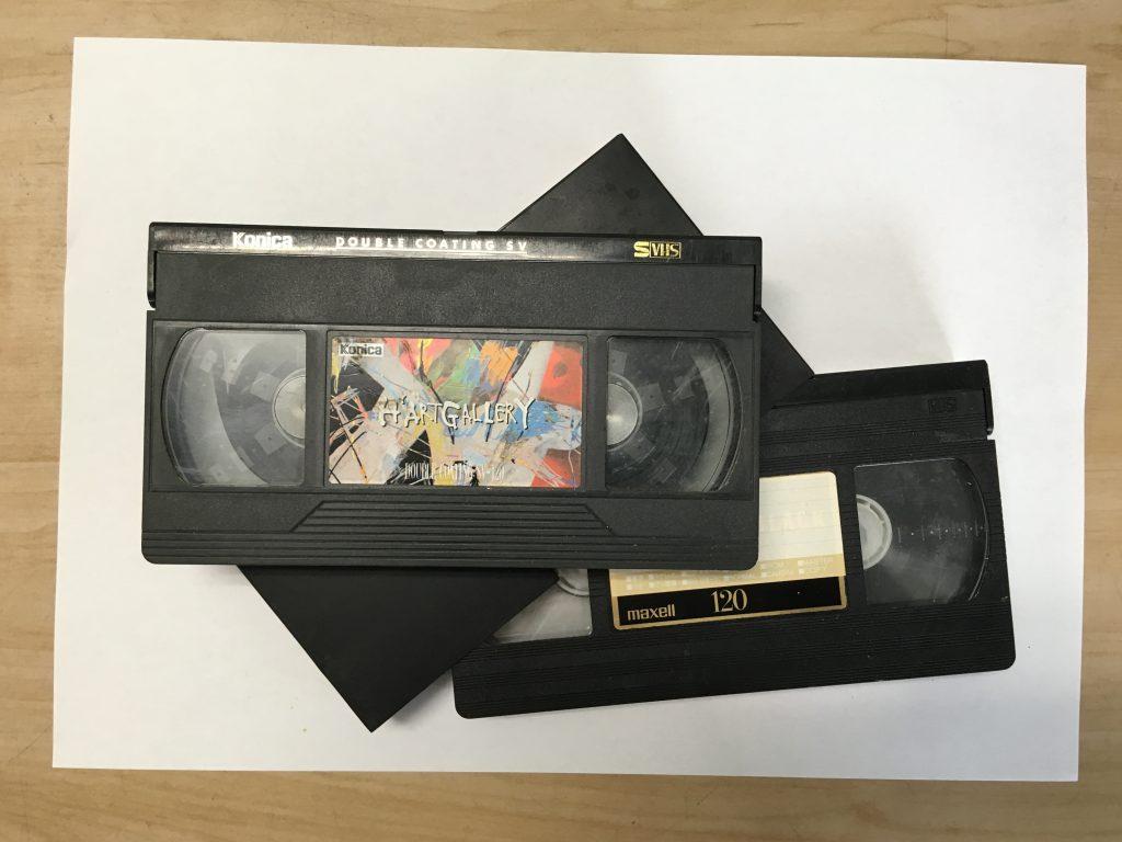 ビデオテープのDVDへのダビング
